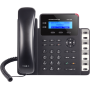 [GXP-1628] ราคา ขาย จำหน่าย Grandstream IP-Phone 2 คู่สาย 2 Port Lan, HD Audio, Backlit LCD display, 3-Way Conference